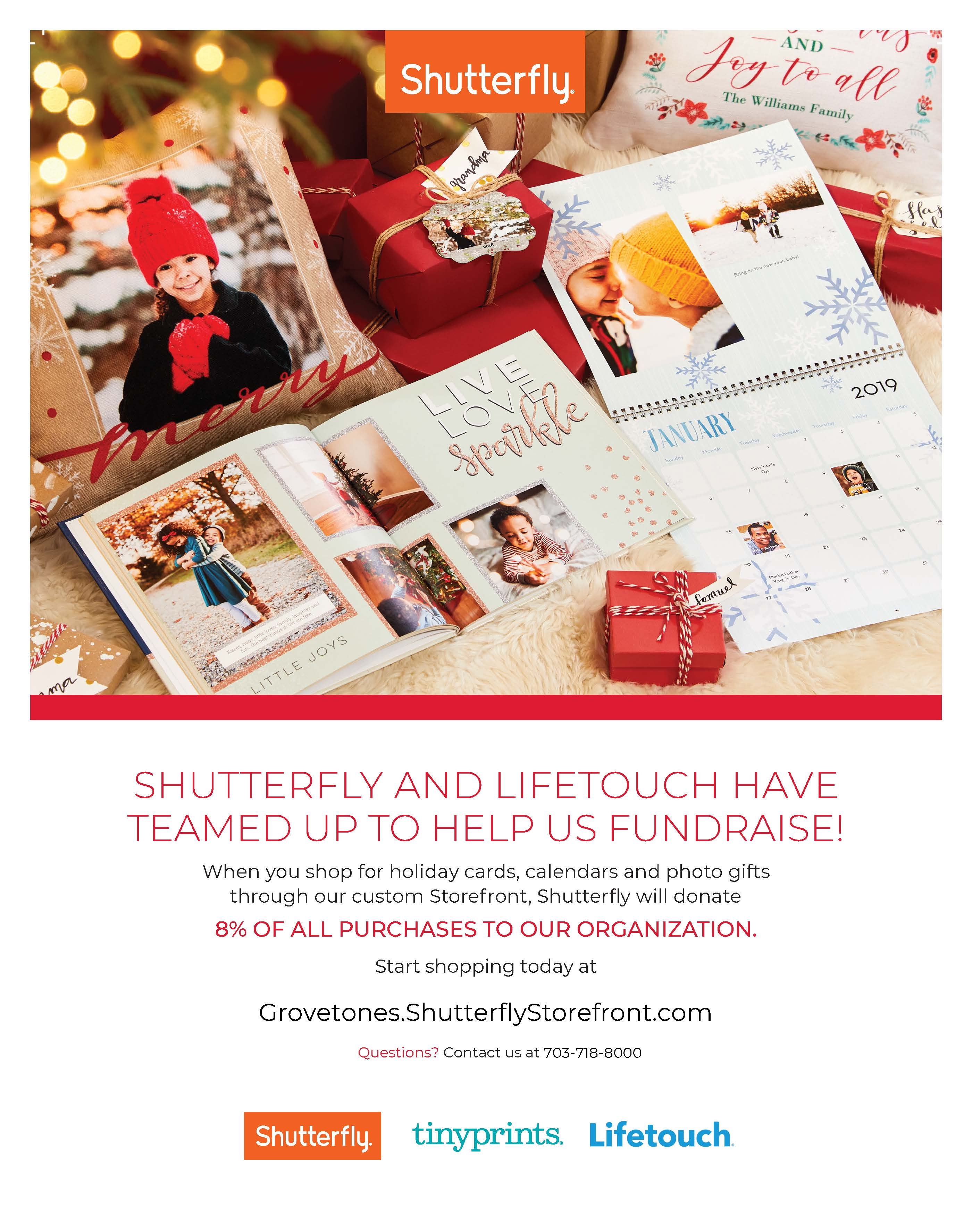 photo of Shutterfly and Lifetouch flier